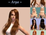 CoolSims #41 ~ Arya ~ (texture pour cheveux)