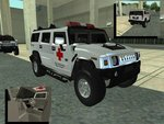 Hummer H2 Red Cross